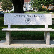 Lions Bench